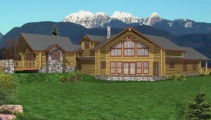 Grand Rapids Log Home Plans