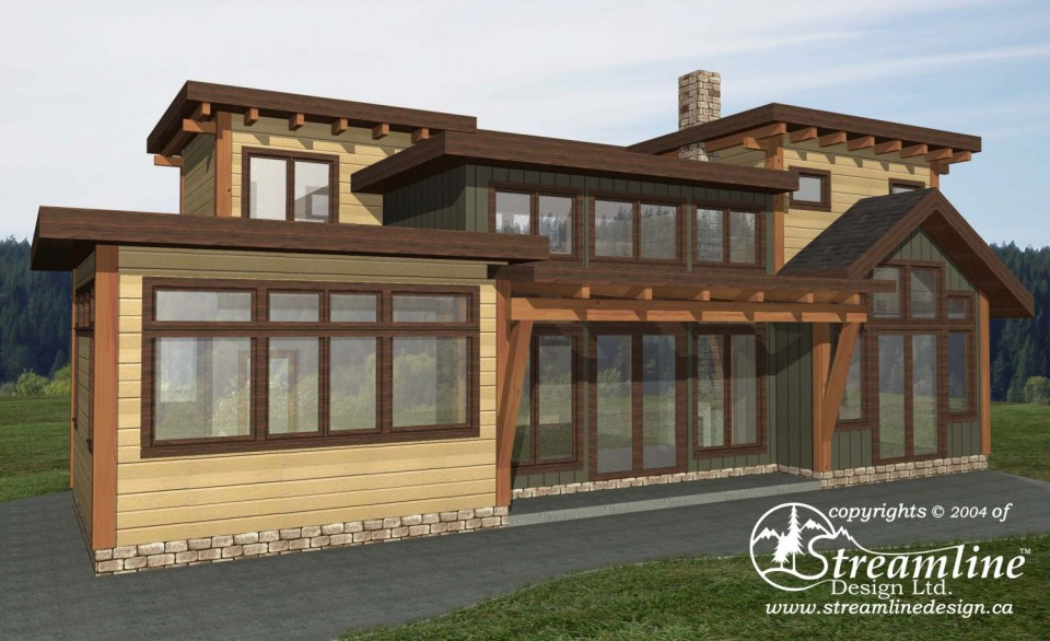 Green Lake Timber Frame Plan