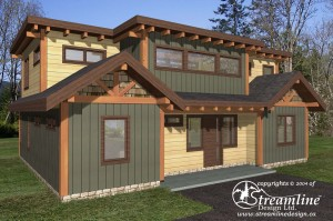 Green Lake Timber Frame Plan