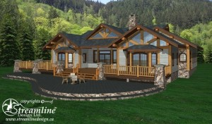 Gunnison Timber Frame Plan