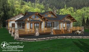 Gunnison Timber Frame Plan