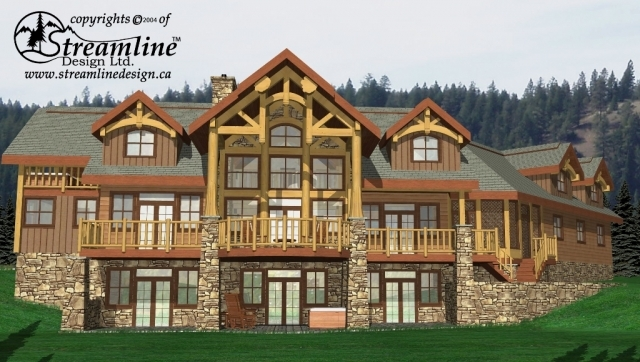 Harmony Custom Log House Plans