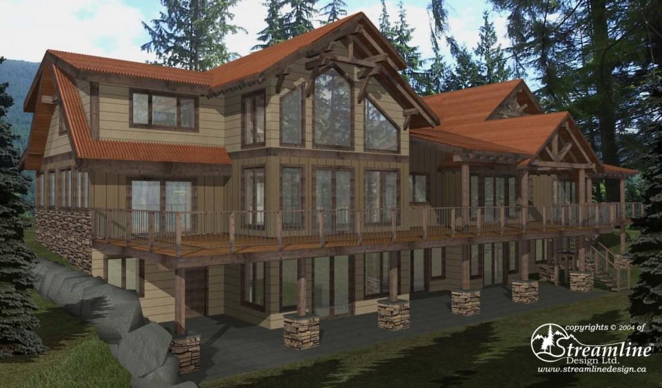 Hudson Hope Custom Timber Frame Design
