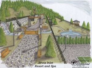 Jervis Inlet Resort and Spa Plans