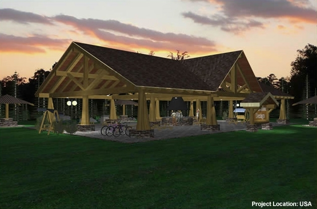 Pavilion plans 4000sqft streamline design Pavilion style house plans