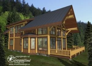 Pine Mountain Log Home Plans