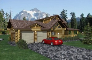Pipestone Log Home Plans