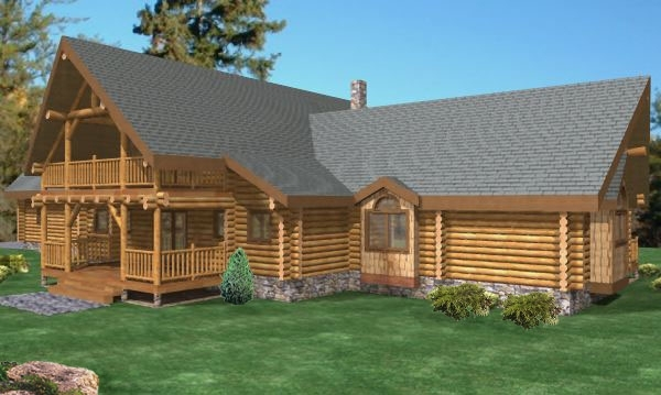Remond Log Home Plans