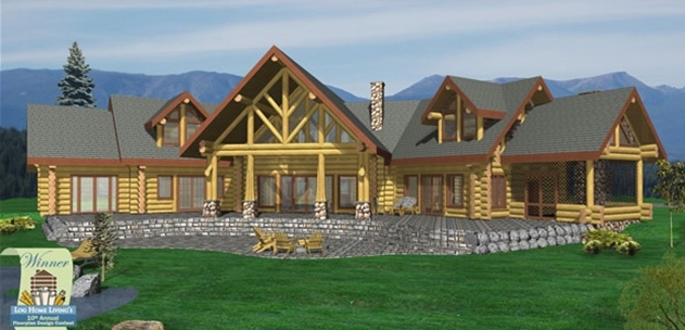 Roaring Spring Log Home Plans