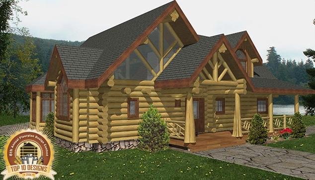 Roosevelt Log Home Plans