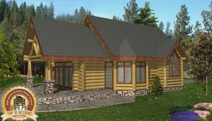 Roosevelt Log Home Plans