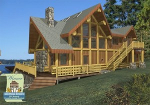 Ruby Lake Log Home Plans