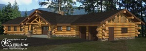 Sherman Log Home Plans
