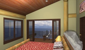 Shoal Lookout Log Home Plans