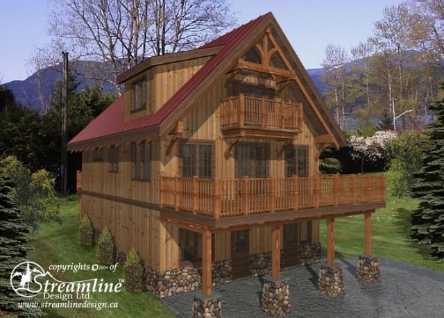 St. Olaf Timber Frame Plan