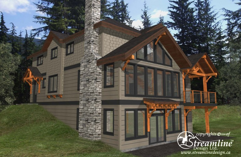 Straiton Timber Frame Design Plan