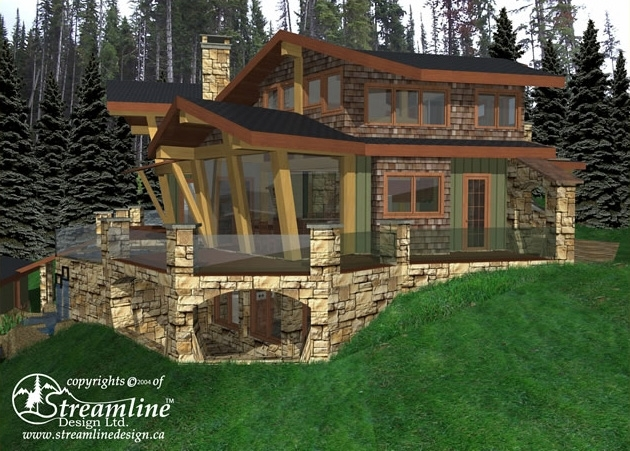 Sun Peaks Custom Timber Frame Design