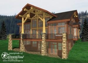 Sundance Timber Frame Plan