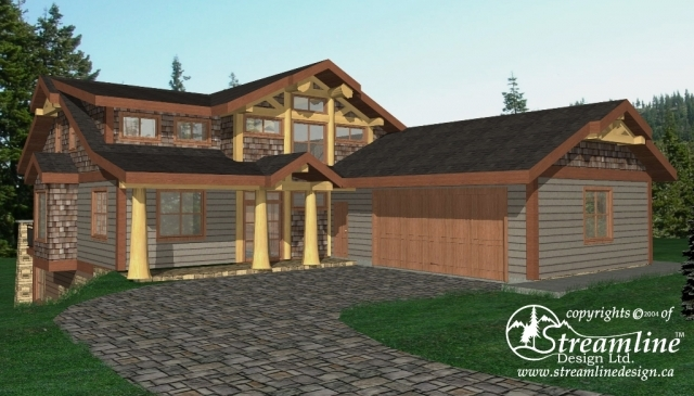 Sundance Timber Frame Plan
