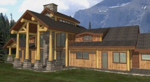 The Alpine Log Home Plans