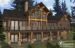 Timber Frame Plan Madeira Park
