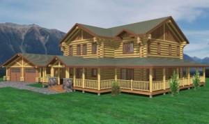 Tucson Log Home Plans