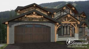 Valley Drive Custom Timber Frame Plan