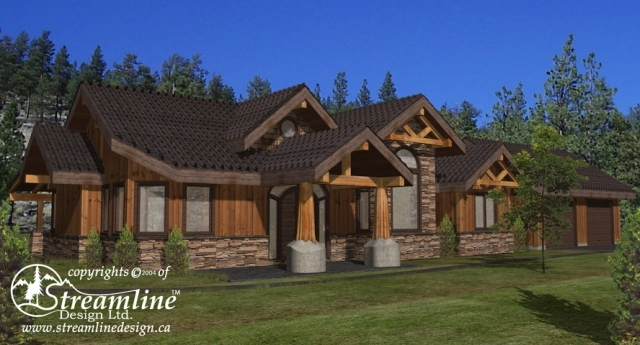 Wild Cherry Timber Frame Plan