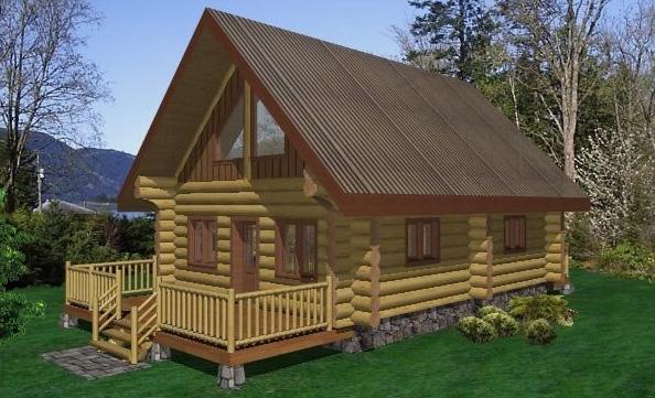 Wolf Creek Log Home Plans