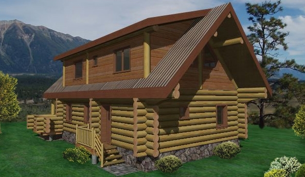 Yukon Log Home Plans
