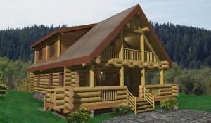Yukon Log Home Plans