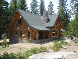 Kendall Log Home