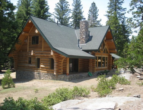 Kendall Log Home Design