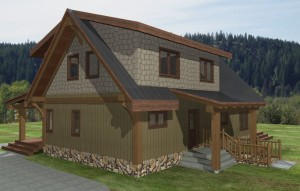 Turtle Valley Timber Frame Plans