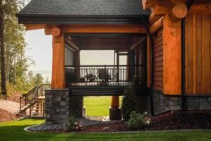 Custom Log Home Alberta