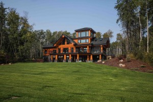 Custom Log Home Alberts