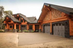 Custom Log Home Canada