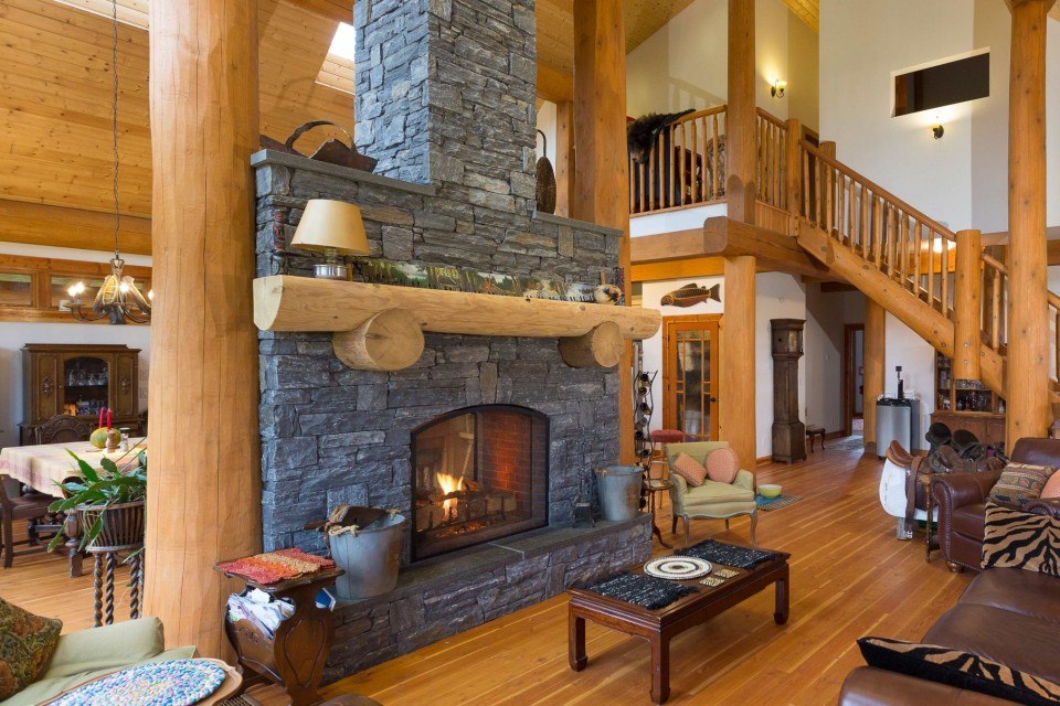 Campbell Valley Post and Beam Log Home 7 - Streamline Design