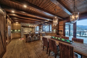 kitchen-and-dining-room-in-timber-home