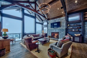 living-room-in-timber-frame-home