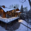 Emma Lake Timber Frame Log Home 17 | Streamline Design