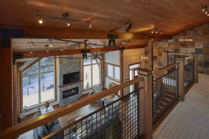 Emma Lake Timber Frame Log Home 18 | Streamline Design