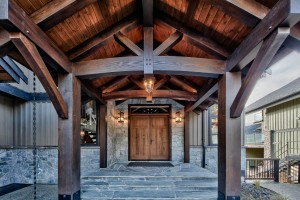 Lottinville Timber Frame Log Home 18 - Streamline Design