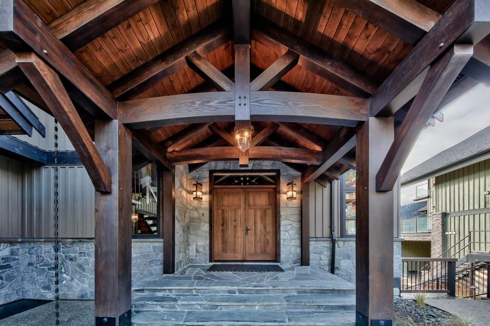 Lottinville Timber Frame Log Home 18 - Streamline Design