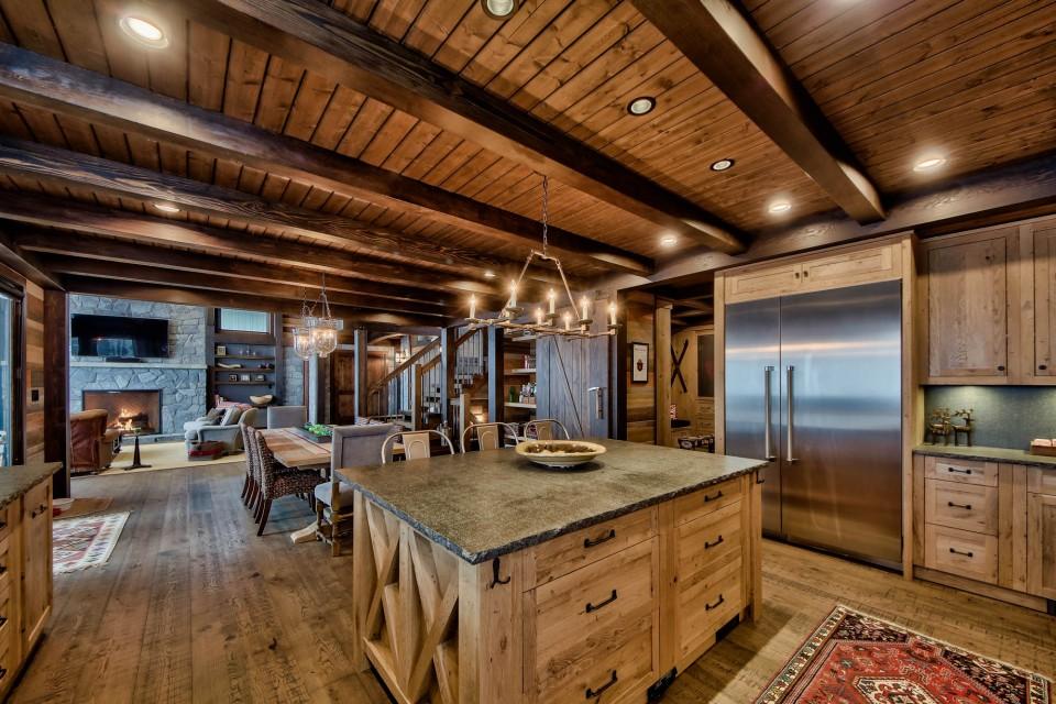 Lottinville Timber Frame Log Home 26 - Streamline Design