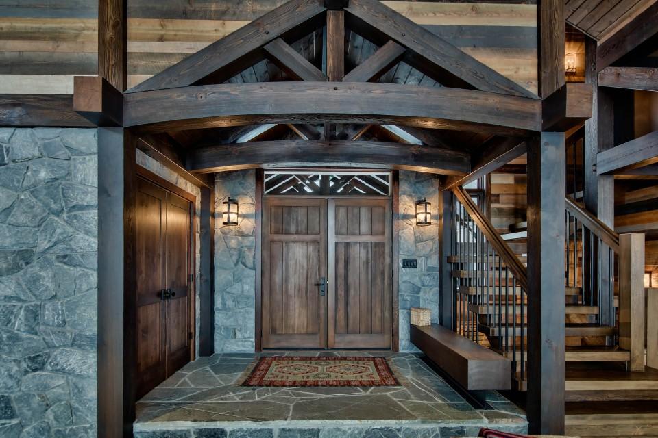 Lottinville Timber Frame Log Home 32 - Streamline Design