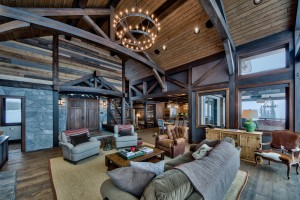 Lottinville Timber Frame Log Home 55 - Streamline Design