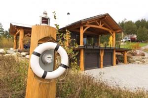 McNeil Timber Frame Log Home 2   Streamline Design