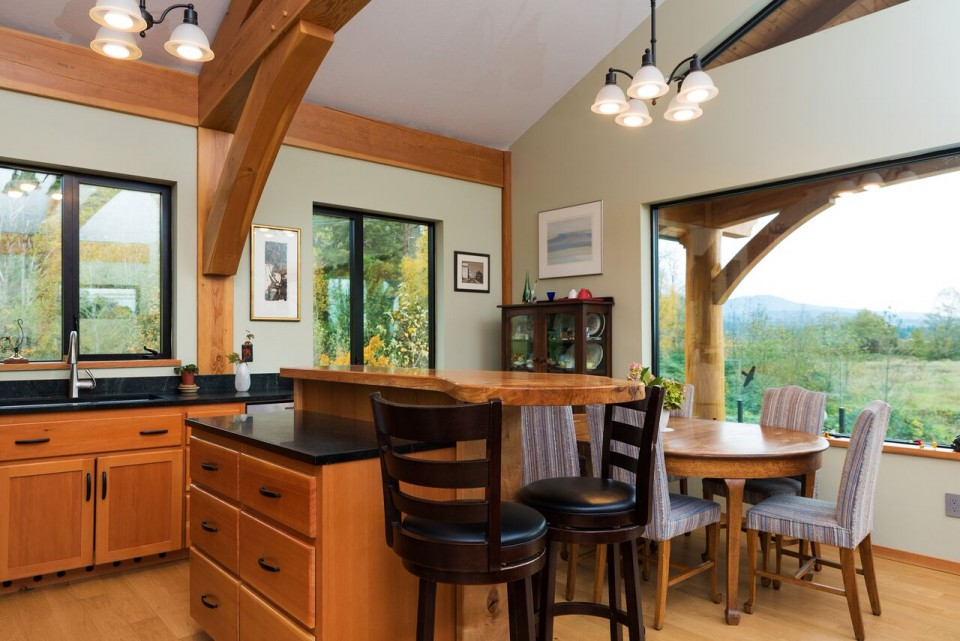 McNeil Timber Frame Log Home 4 | Streamline Design