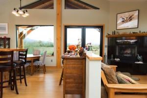McNeil Timber Frame Log Home 5 | Streamline Design